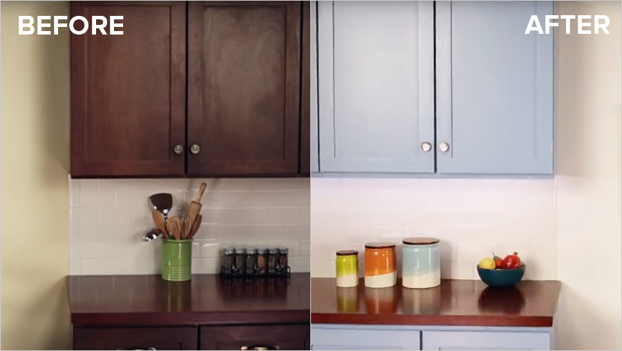 How To Refinish Old Kitchen Cabinets