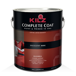 KILZ COMPLETE COAT® Paint and Primer in One