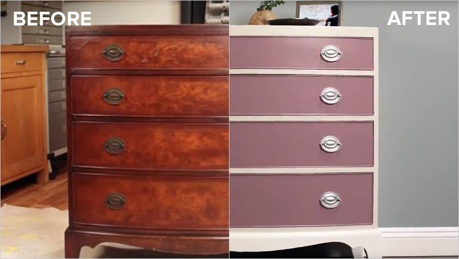Refresh A Wood Dresser With Kilz