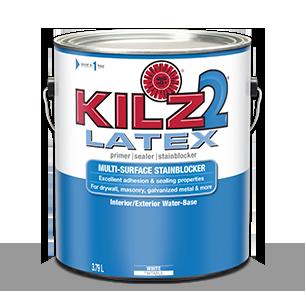 KILZ 2® Latex Interior / Exterior Water Based Primer