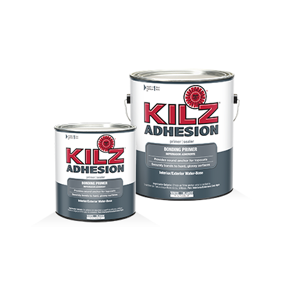 Kilz Adhesion Primers Specialty Paints Concrete Care Products Kilz