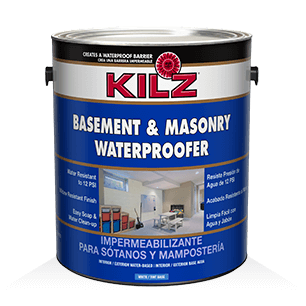 Kilz concrete masonry cleaner degreaser primers for Garage floor cleaner degreaser