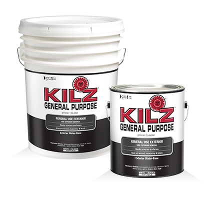 Kilz General Purpose Exterior Primers Specialty Paints Concrete Care Products Kilz