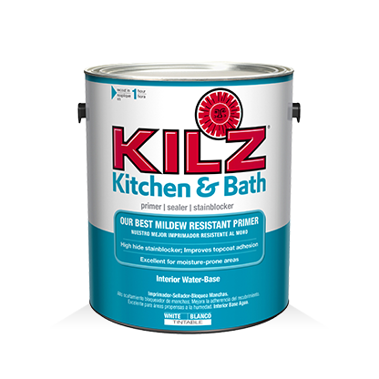 Kilz Kitchen Bath Primer Primers Specialty Paints Concrete Care Products Kilz