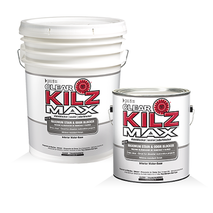 Kilz Max Clear Primers Specialty Paints Concrete