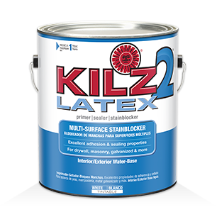 kilz 2 latex primers specialty paints concrete care products. Black Bedroom Furniture Sets. Home Design Ideas