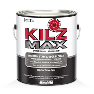 Kilz original primers specialty paints concrete care for Wallpaper primer home depot