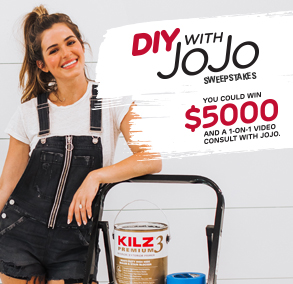 KILZ DIY With JoJo Sweepstakes