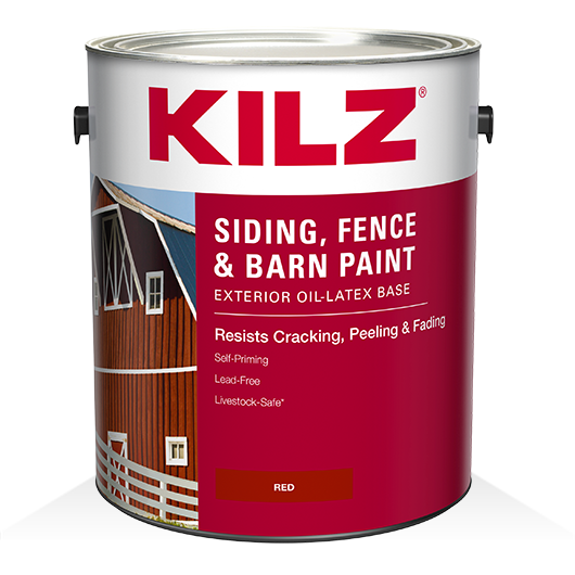 KILZ® Siding, Fence And Barn Paint