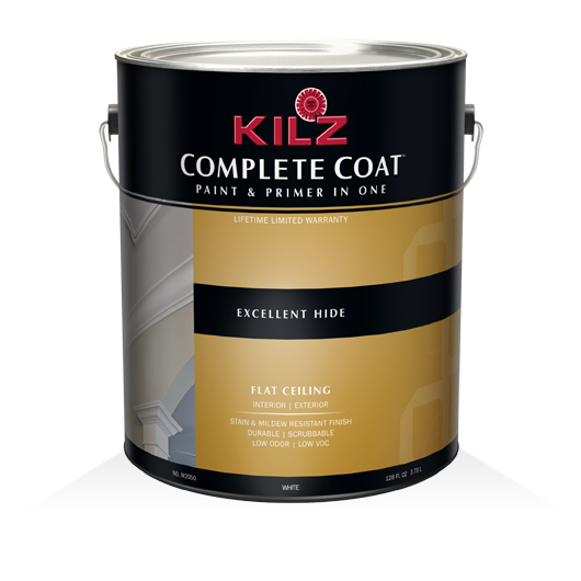 Kilz complete coat flat ceiling primers specialty for Top rated ceiling paint