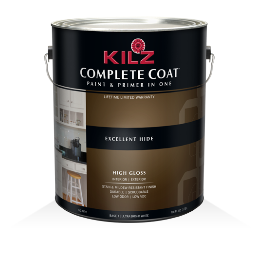 KILZ COMPLETE COAT® - High-Gloss - Primers, Specialty Paints ...