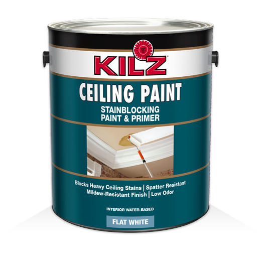KILZ® Stainblocking Ceiling Paint & Primer