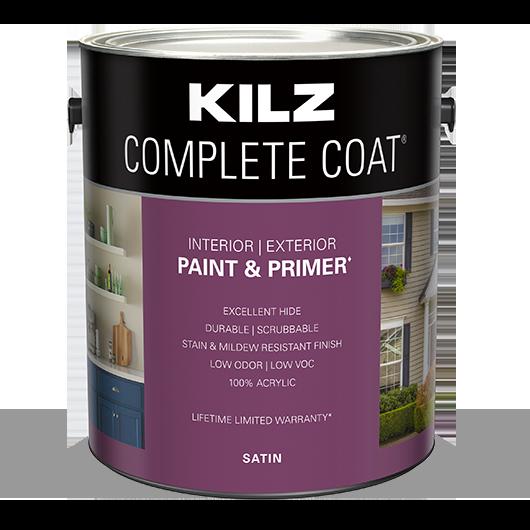 Kilz Complete Coat Satin Paint Primer Kilz