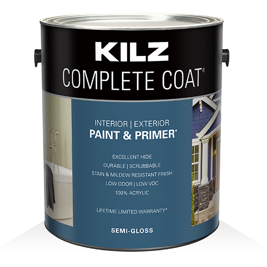 KILZ COMPLETE COAT® - Semi-Gloss