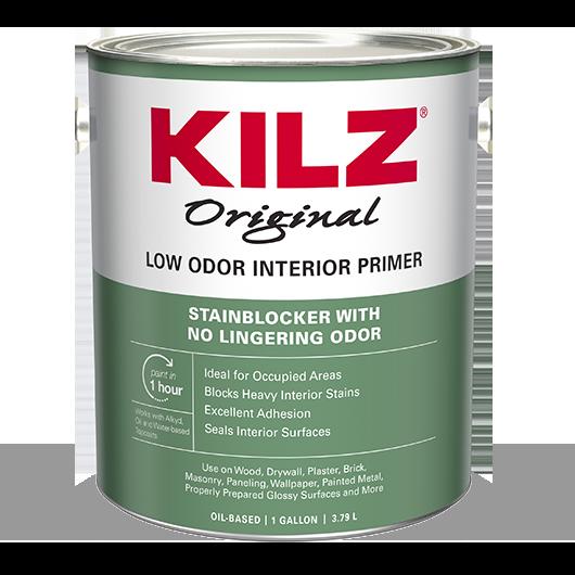 KILZ® Low Odor Primer, Sealer, and Stainblocker | KILZ®