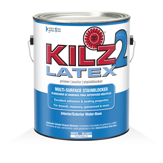 KILZ 2® Latex Multipurpose Primer, Sealer Stainblocker | KILZ®
