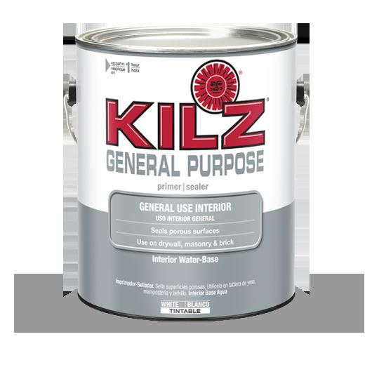 KILZ® General Purpose Interior Primer   Primers, Specialty Paints U0026  Concrete Care Products   KILZ®