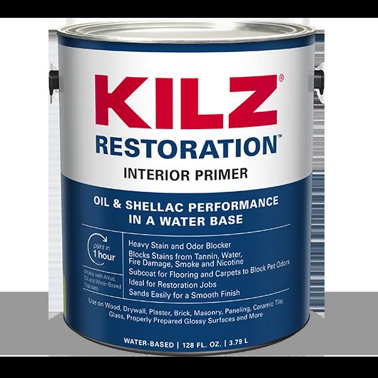 KILZ RESTORATION™ InteriorPrimer | KILZ®
