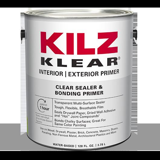 KILZ KLEAR® High Performance Primer Sealer | KILZ®