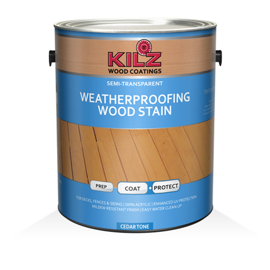 Kilz 174 Weatherproofing Semi Transparent Stain Kilz 174