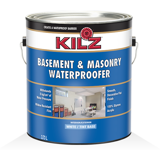 KILZ® Basement & Masonry Waterproofer