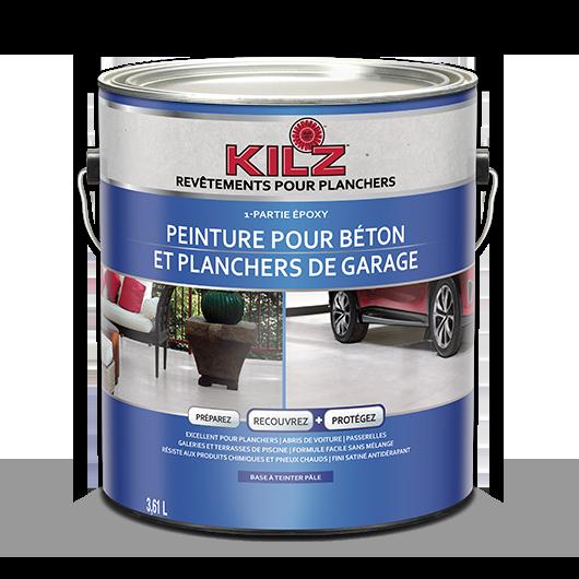 Peinture Acrylique Pour Béton Et Planchers De Garage 1 Partie époxy