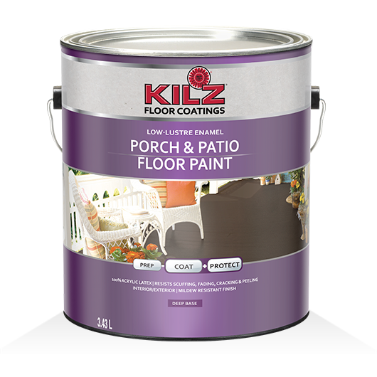 Genial KILZ® Porch U0026 Patio Floor Paint   Primers, Specialty Paints U0026 Concrete Care  Products   KILZ®