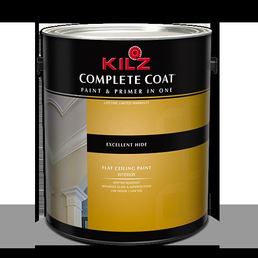 Kilz Complete Coat Flat Ceiling Primers Specialty Paints Concrete Care Products Kilz