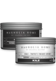 Cans of Magnolia Home clear and dark wax