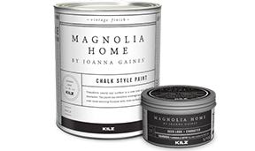 Chalk style paint can