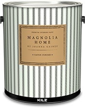 Can of Magnolia Home premium interior satin paint
