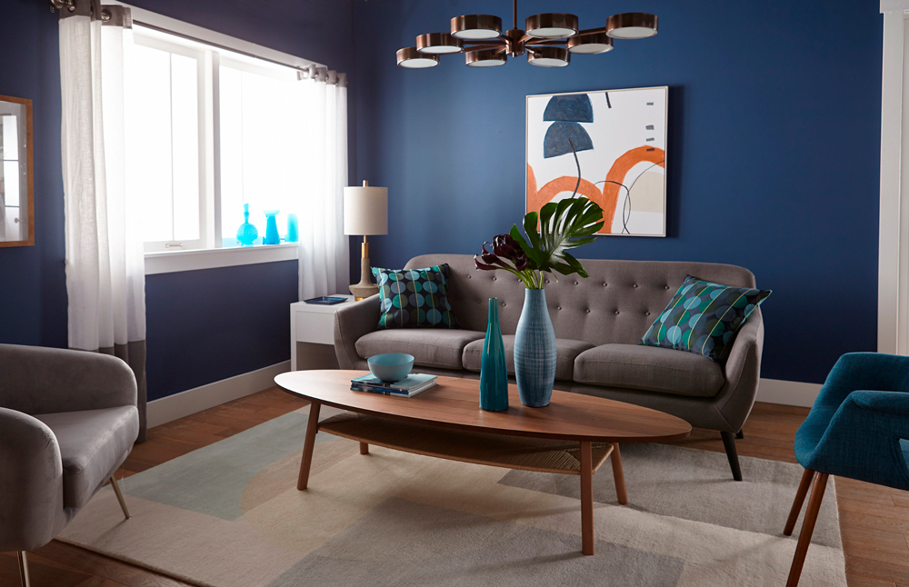 Living Room Authentic Navy Full