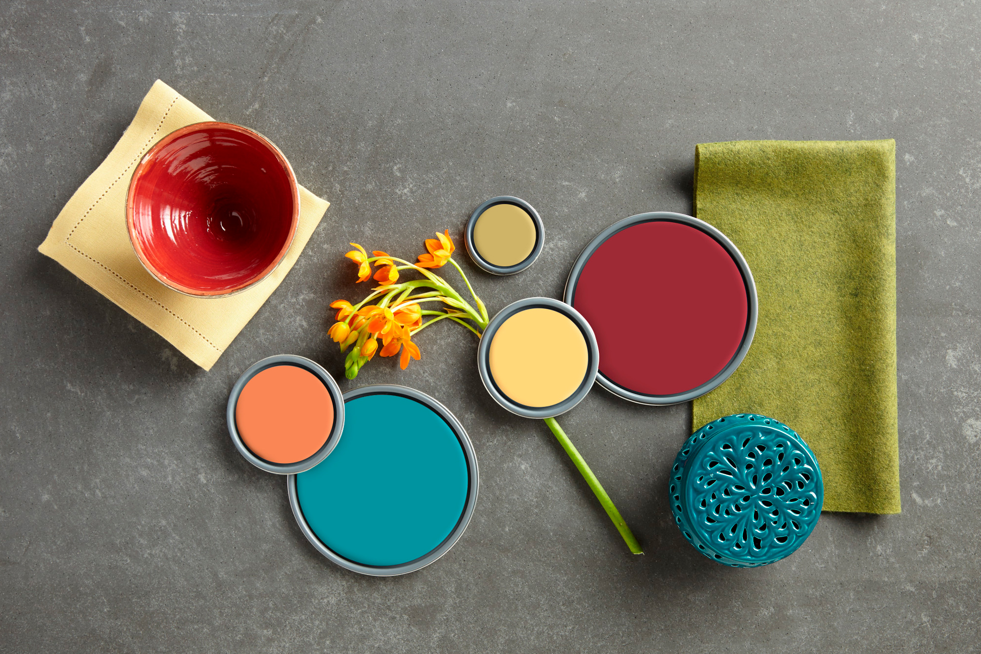 Calming and Energizing Paint Colors