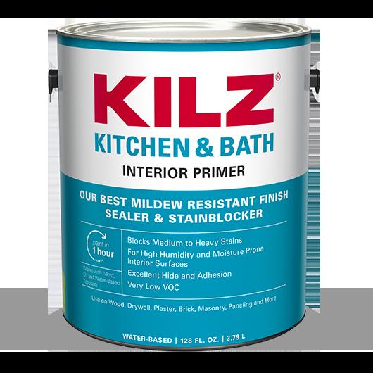 Kilz Kitchen Bath Primer, Primer For Bathroom Ceiling