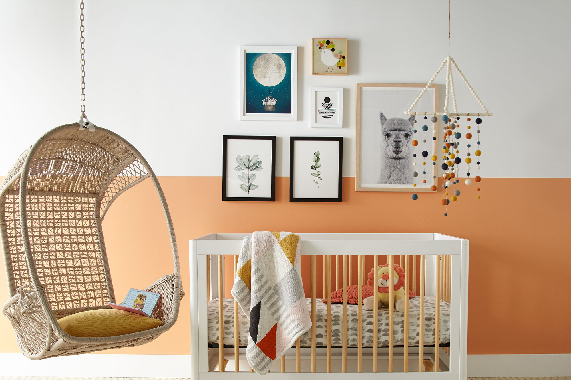 Color Blocking for a Sweet Nursery