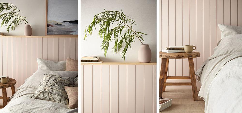 Magnolia Home: Relaxing Rose-Hued Bedroom Details