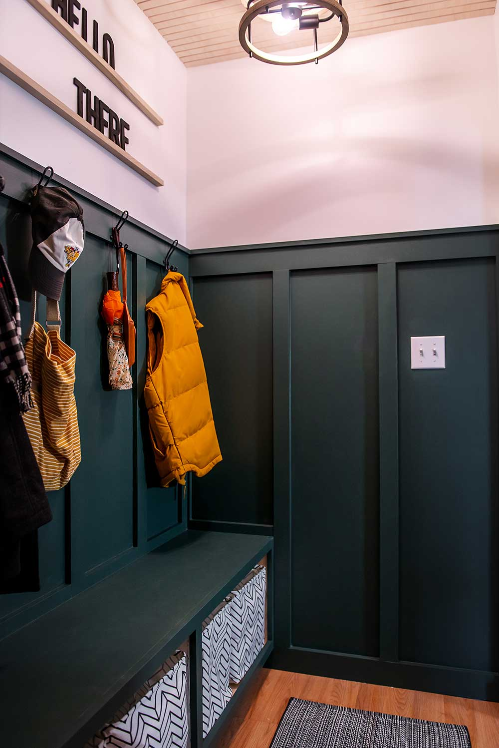 Well Made Mudroom 1905 Green