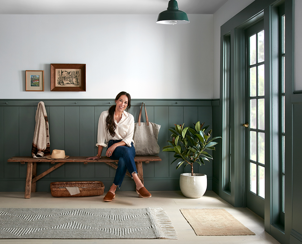 Magnolia Home Joanna Gaines in Hallway