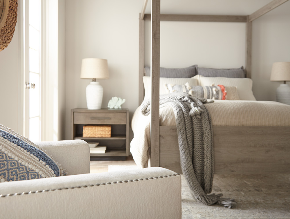 Transforming a Boring Bedroom into a Relaxing Oasis