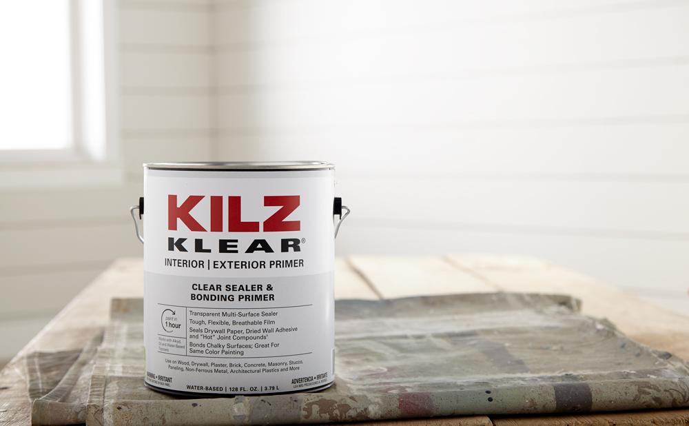 Kilz Primer Tips - Kilz Clear