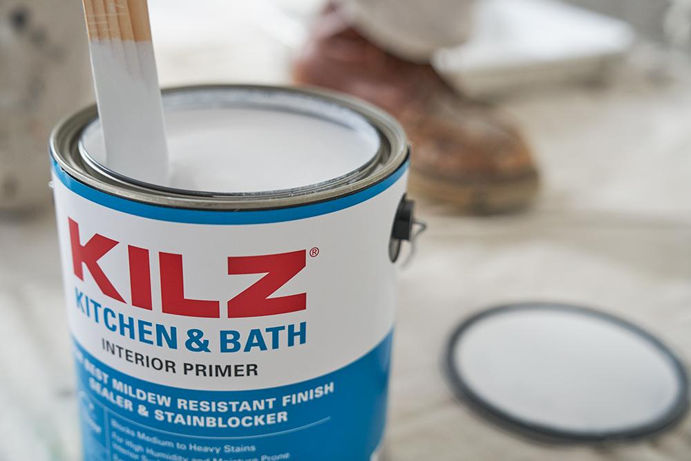 Kilz Primer Tips - Kilz Kitchen & Bath