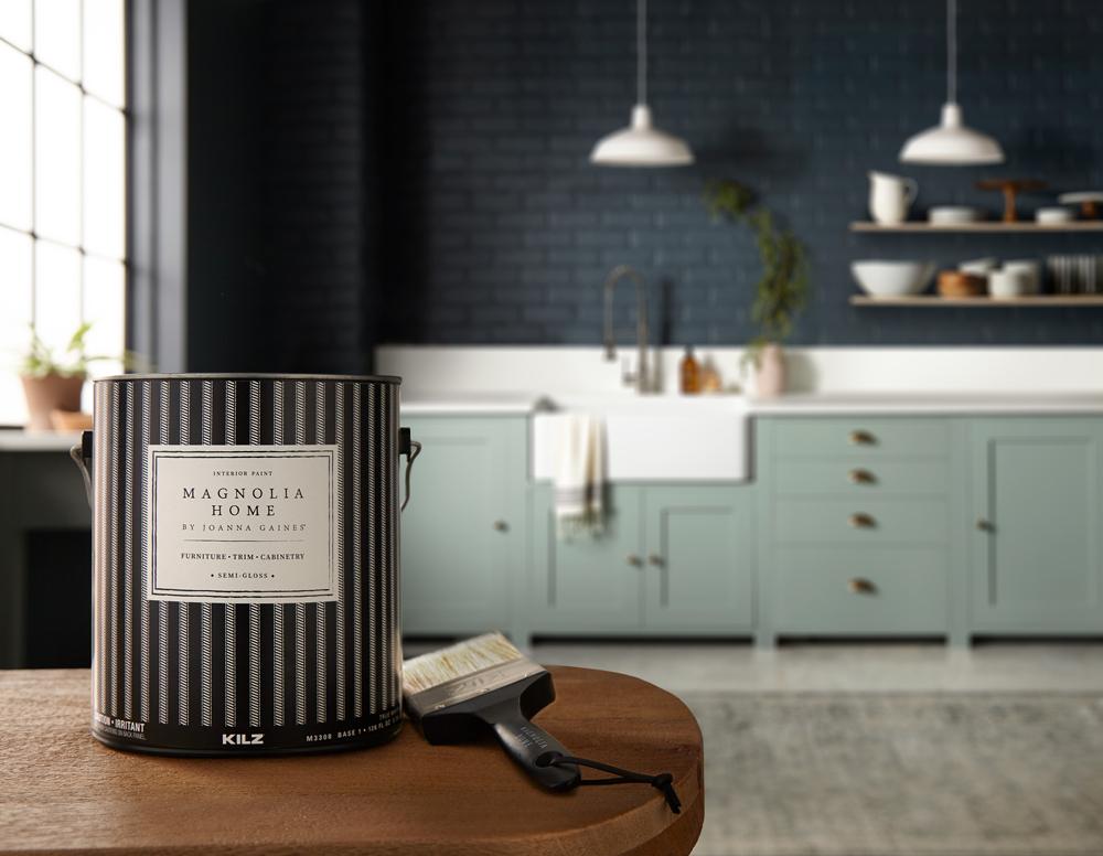 Magnolia Home Bold Kitchen Colors