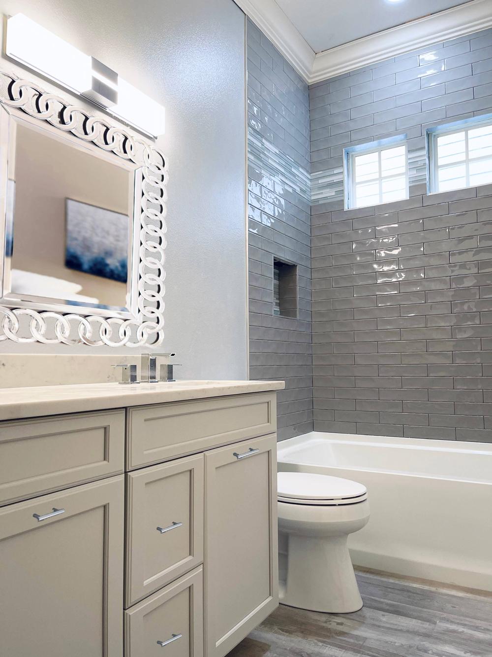 Pro Spotlight: Ryka Builders - Bathroom, After