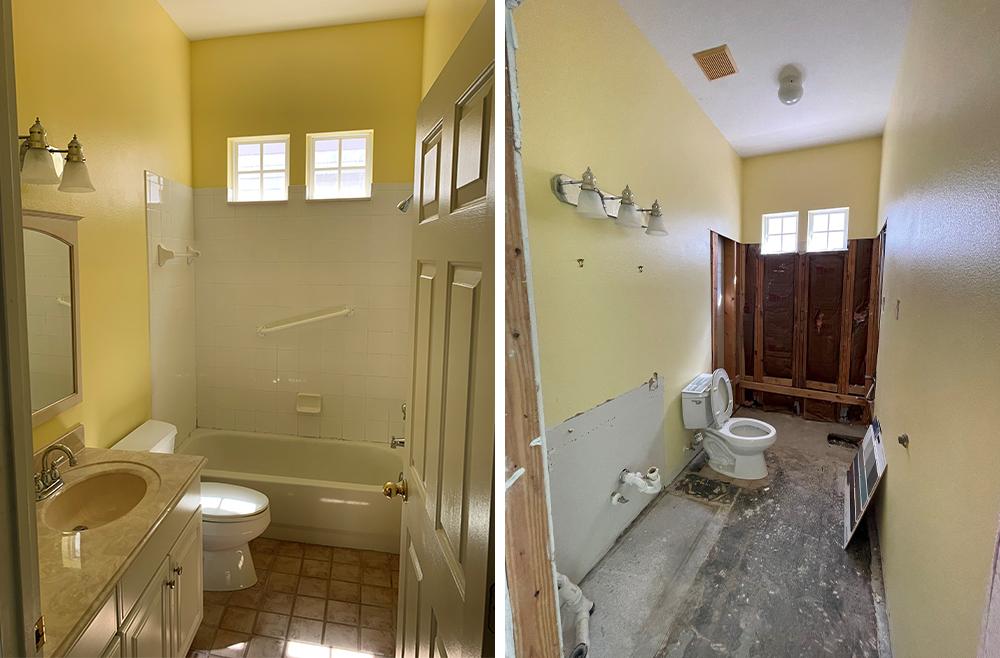 Pro Spotlight: Ryka Builders - Bathroom Demolition