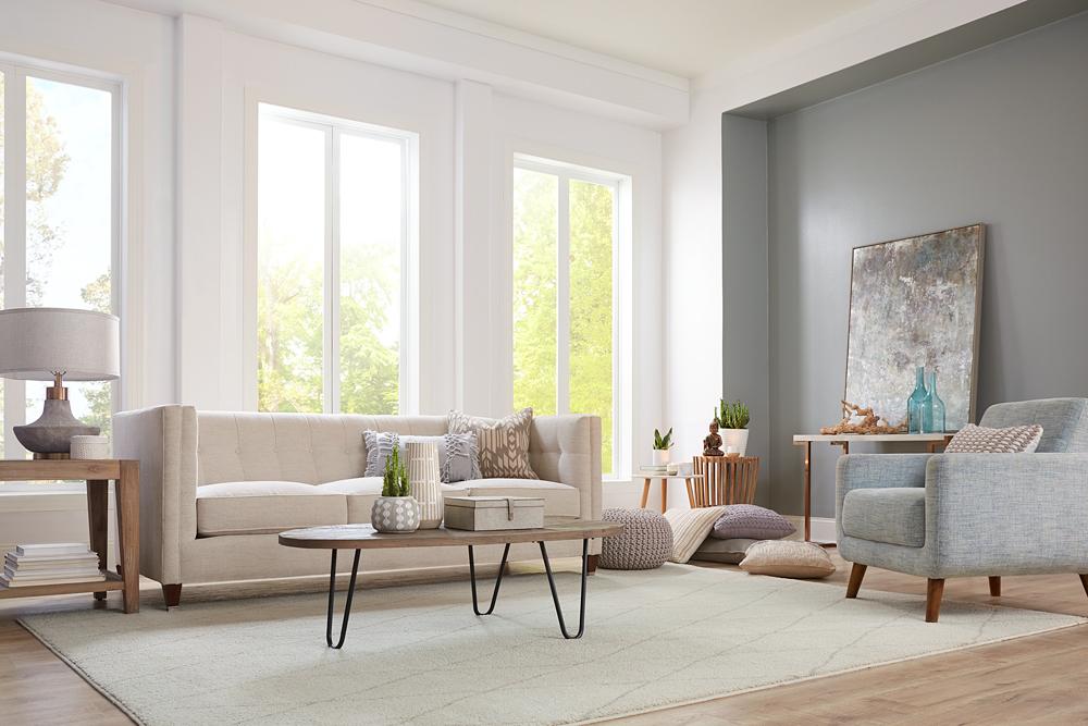 Living Room Makeover with Meditation in Mind