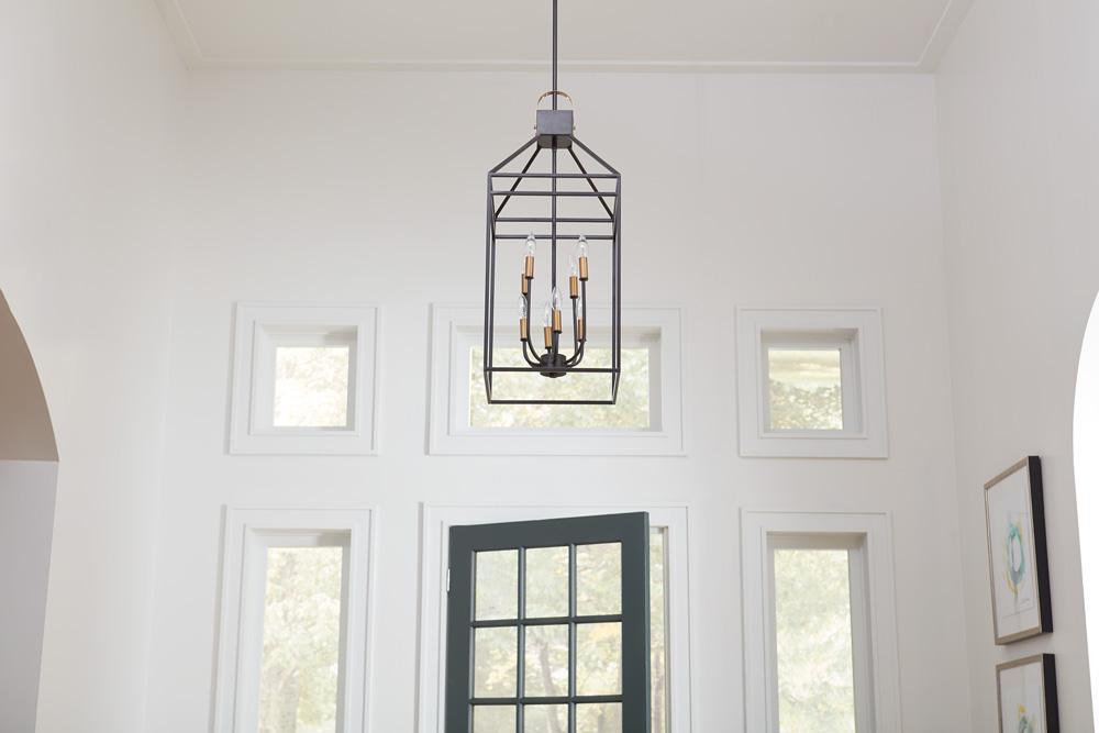 Inviting Entryway Makeover - Light Fixture