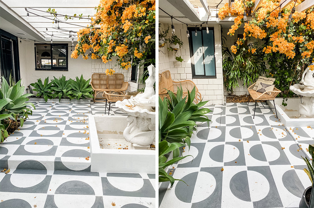 Pro Spotlight: Jesi Haack's Mid-Century Courtyard Makeover