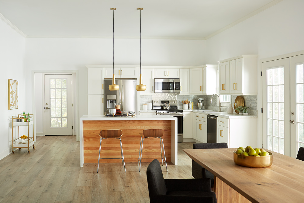A Fresh Kitchen Makeover: After