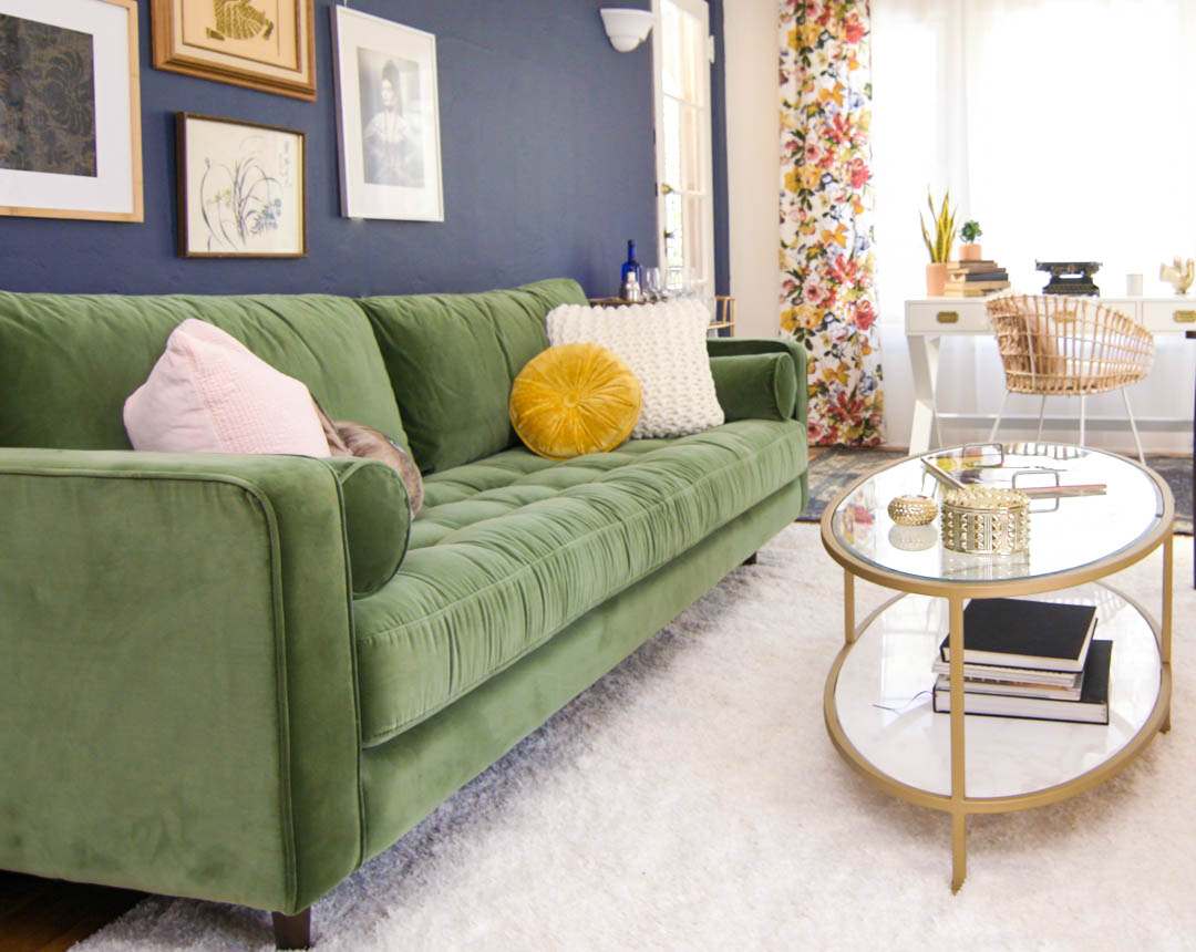 Wonderful Bold Living Room Color Change Made Easy!