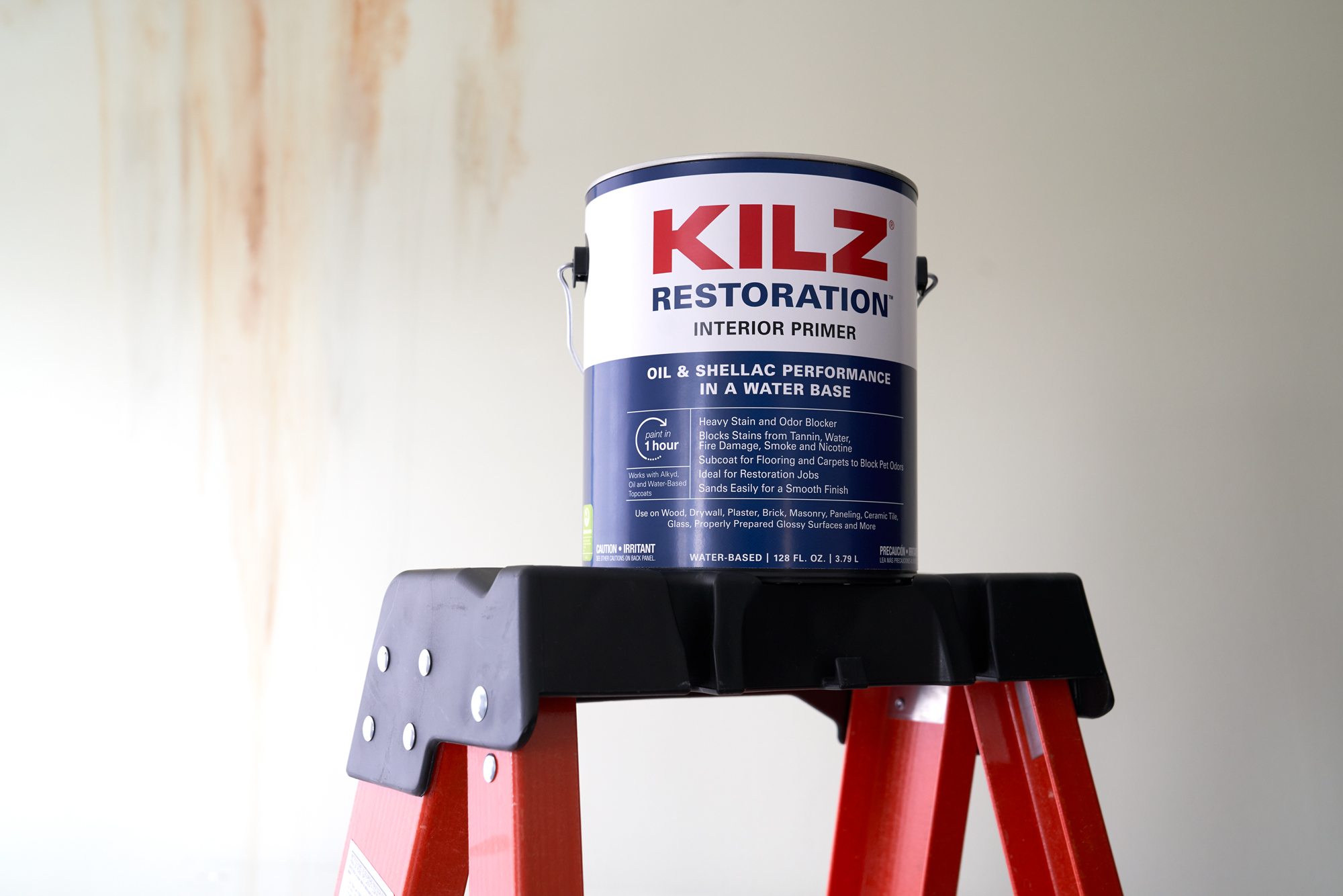 3 Secrets To Stain Blocking The Perfect Finish Blog By Kilz